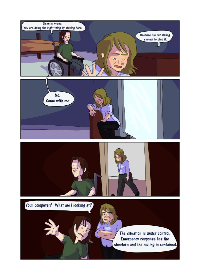 Unwanted Attention: Page 49