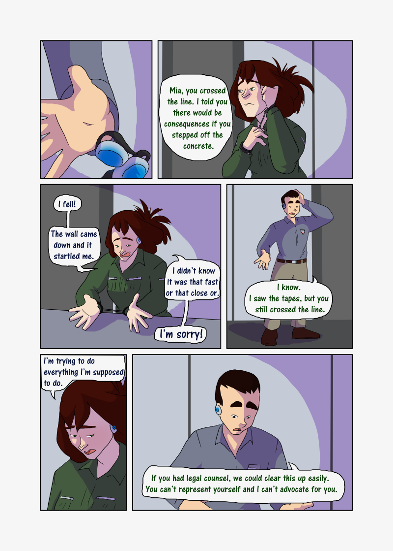 Unwanted Attention: Page 13