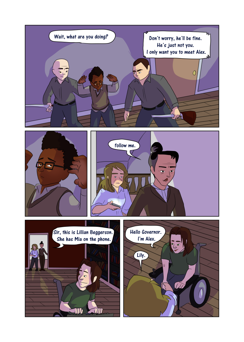 Unwanted Attention: Page 41