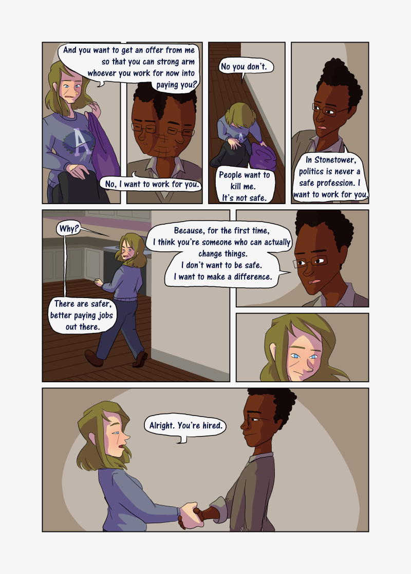 Unwanted Attention: Page 5