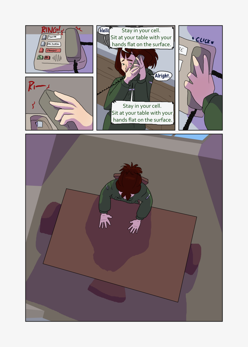Unwanted Attention: Page 9